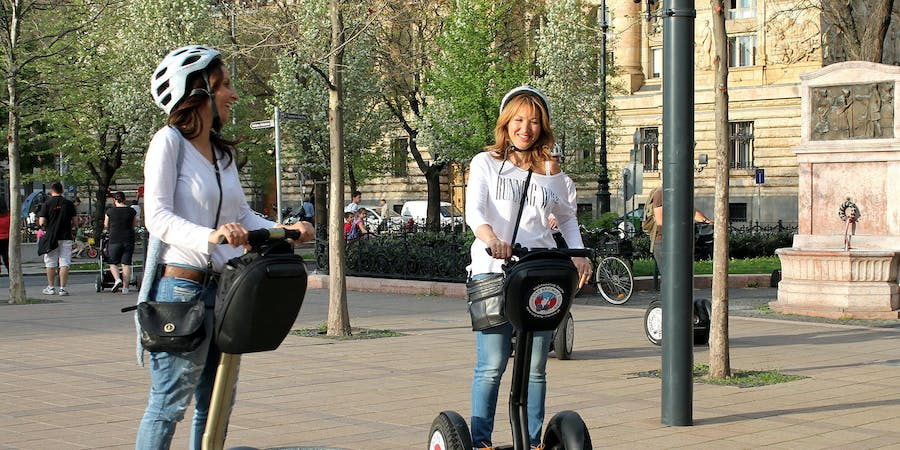 Budapest in August - Segway Tour