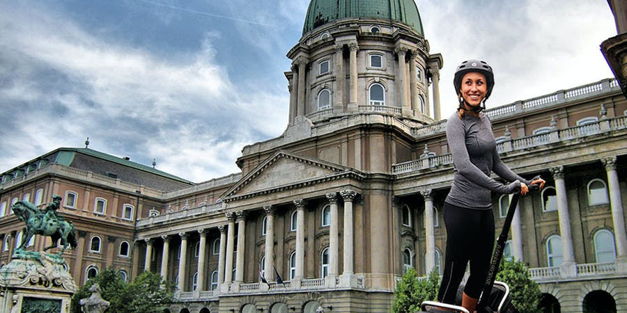 Budapest in October - Segway Tour