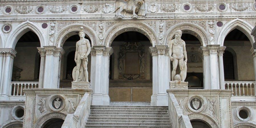 Venice in July - doge's palace