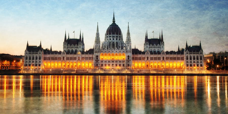 Budapest in November - Hungarian Parliament