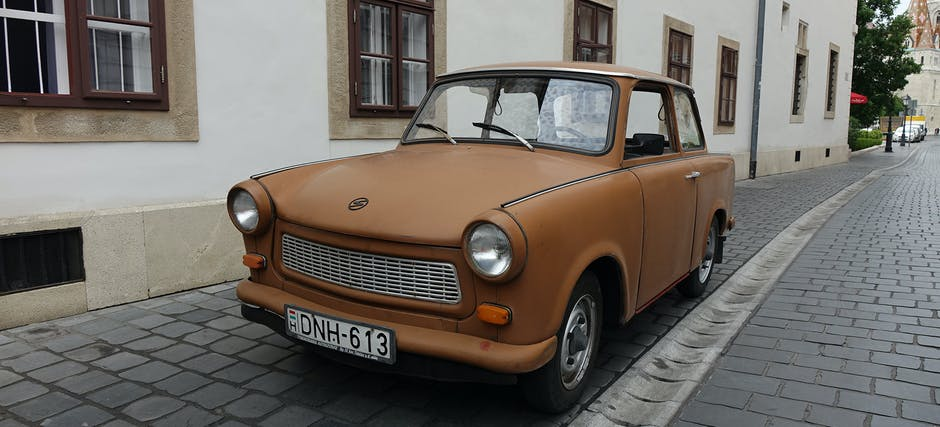Airport Transfers in a Trabant