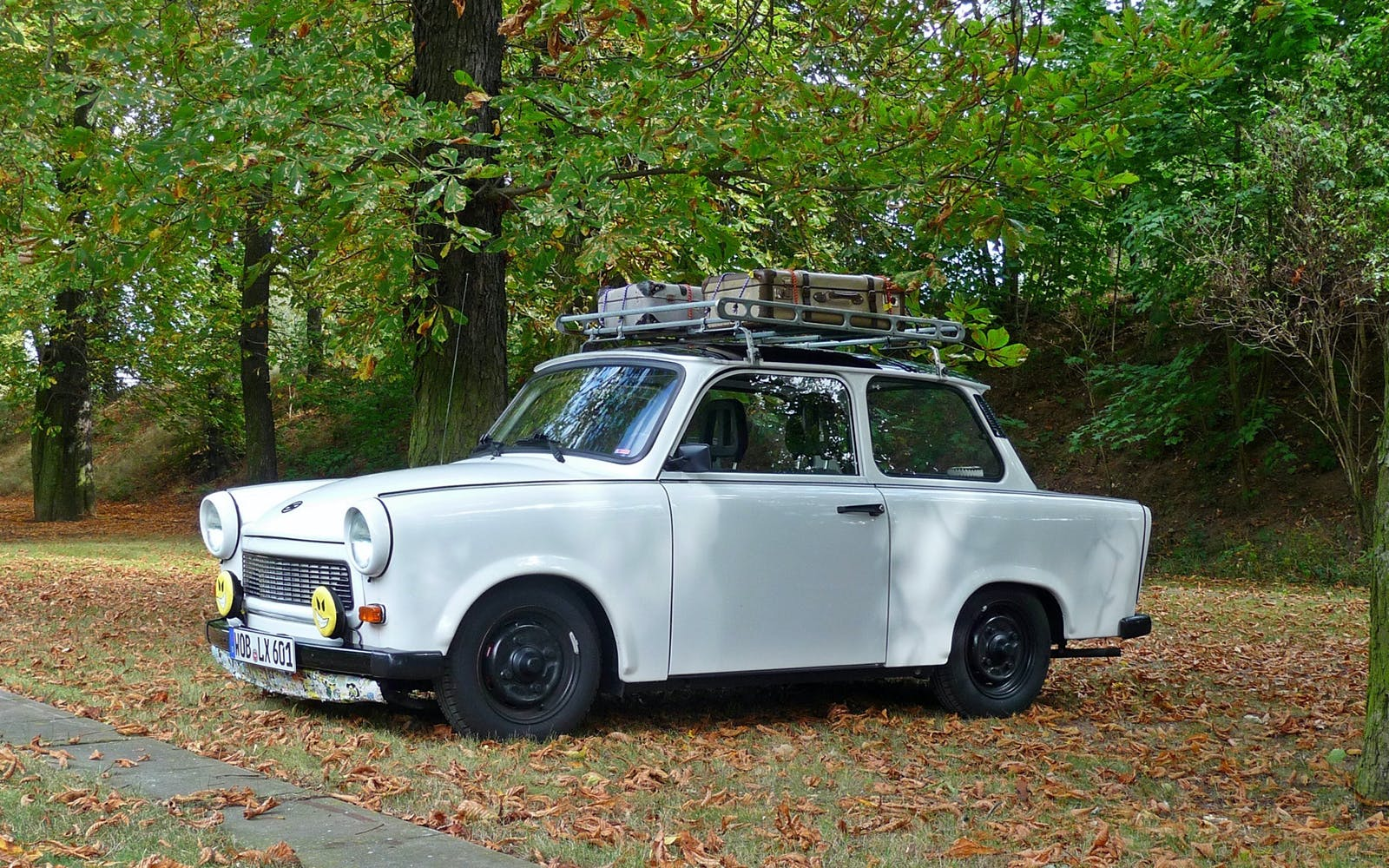 airport transfers in a trabant-1
