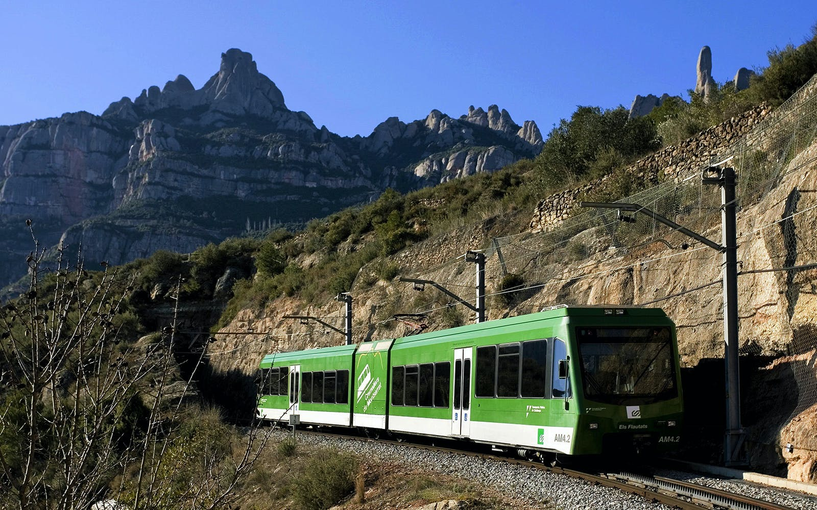 Montserrat from Barcelona with Train + Rackrailway