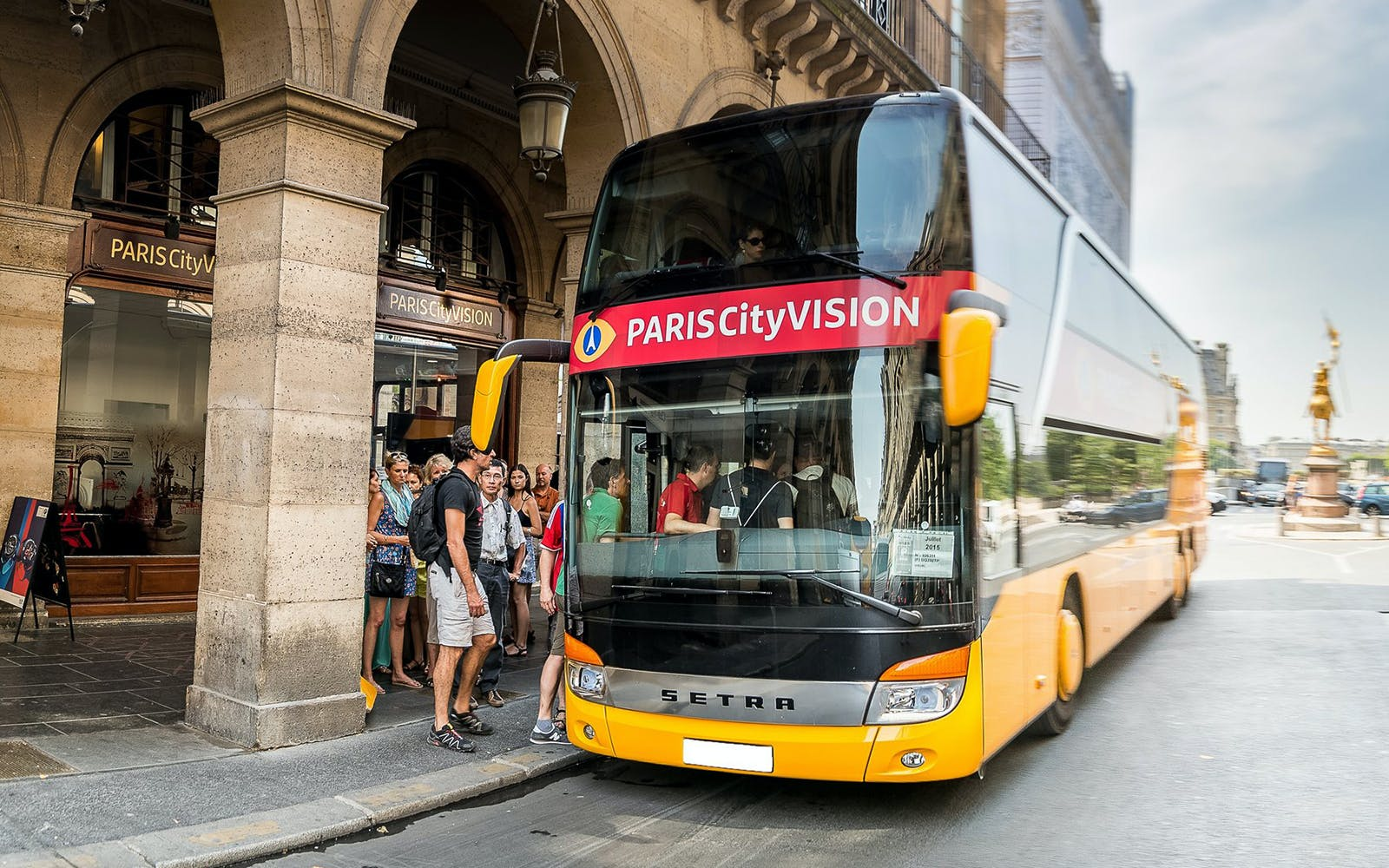 Tour de Paris en Bus