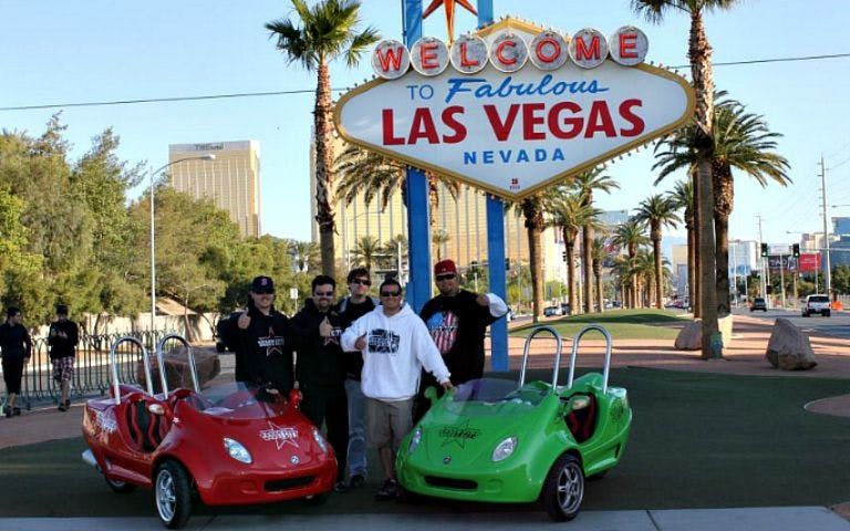 las vegas strip and downtown scootercar tour-1