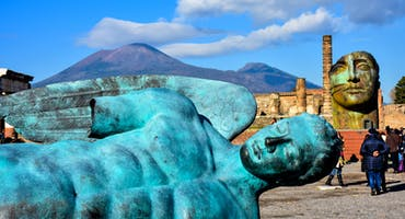 Pompeii and Mt. Vesuvius Volcano Full Day Trip from Rome