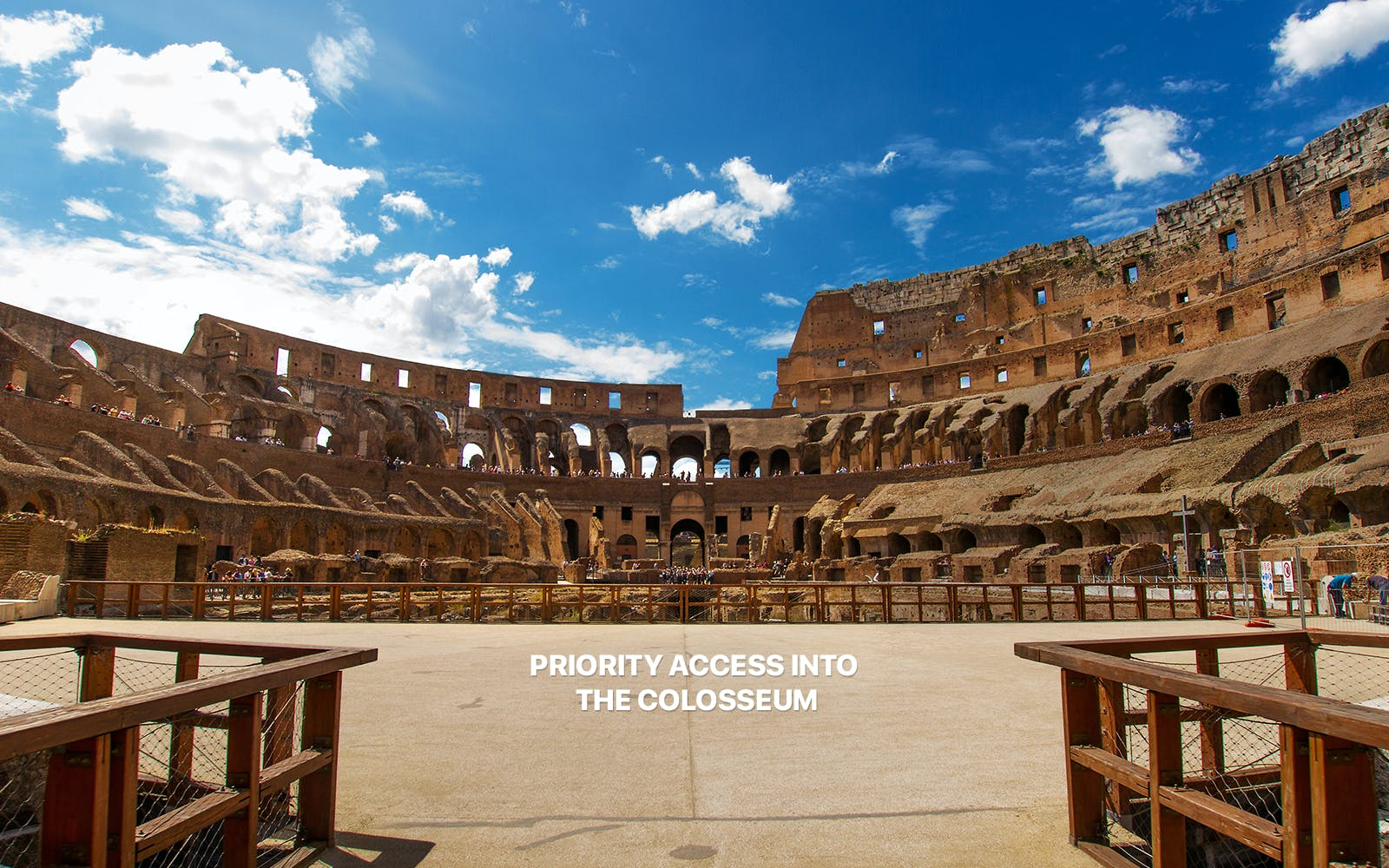small group tour of colosseum and ancient rome with arena access-2