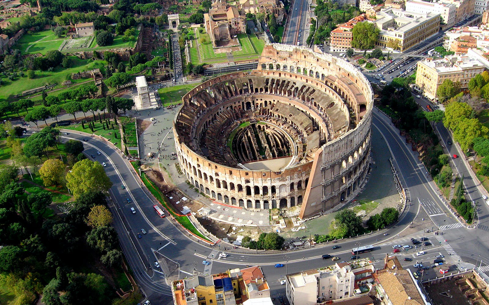 small group tour of colosseum and ancient rome with arena access-5