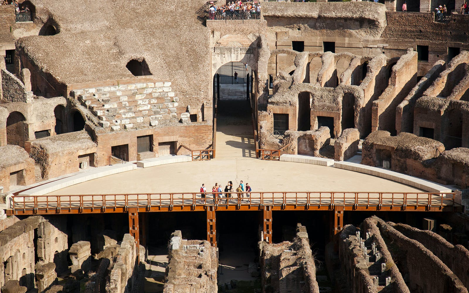 small group tour of colosseum and ancient rome with arena access-1
