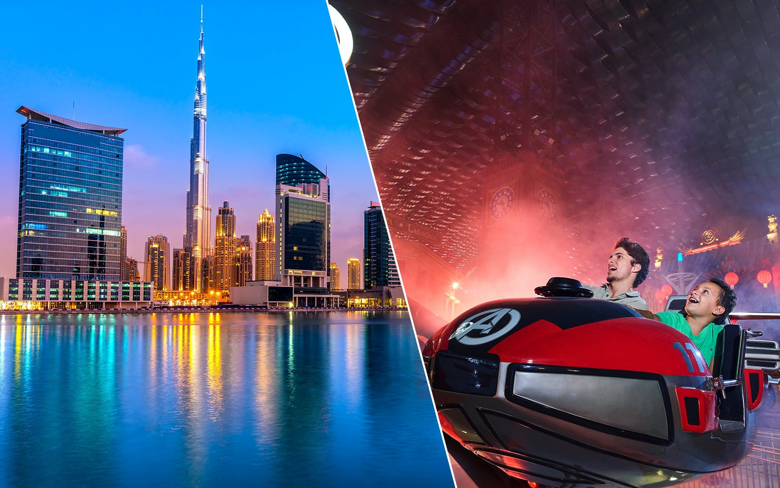 IMG Worlds of Adventure with Dubai City Tour