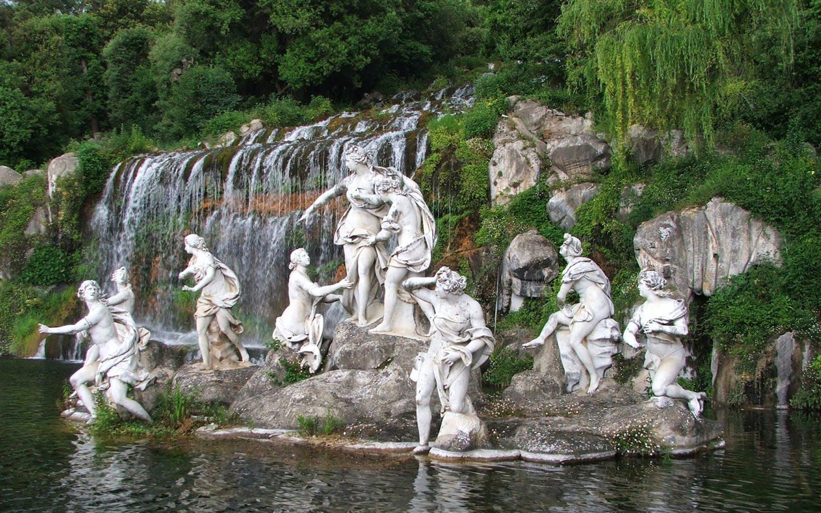 royal palace of Caserta garden