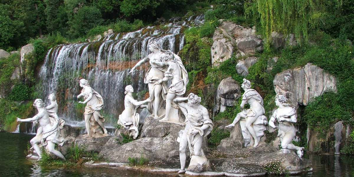 royal palace of Caserta garden