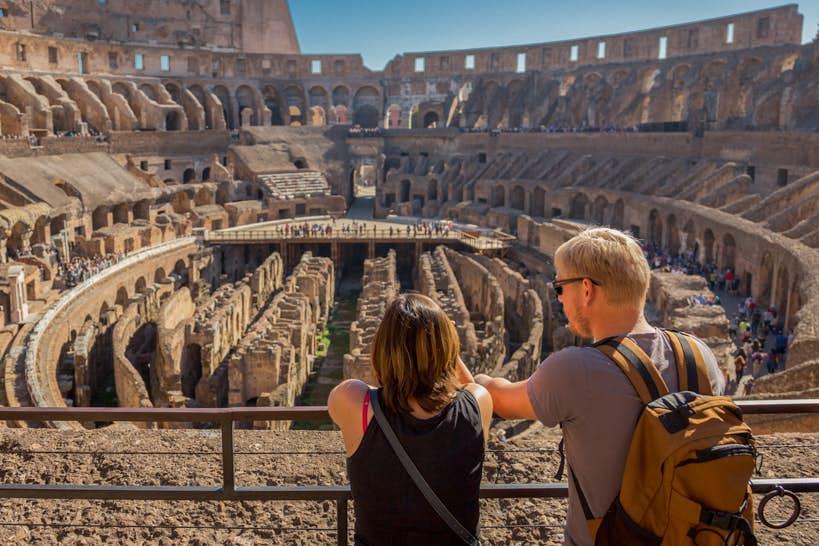Colosseum Entrances