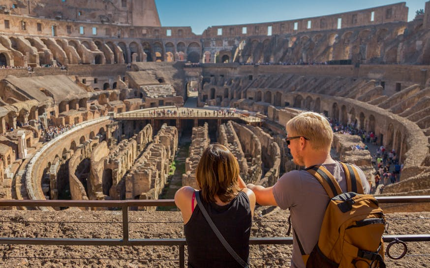 guided tour with skip the line access to colosseum, roman forum & palatine-1
