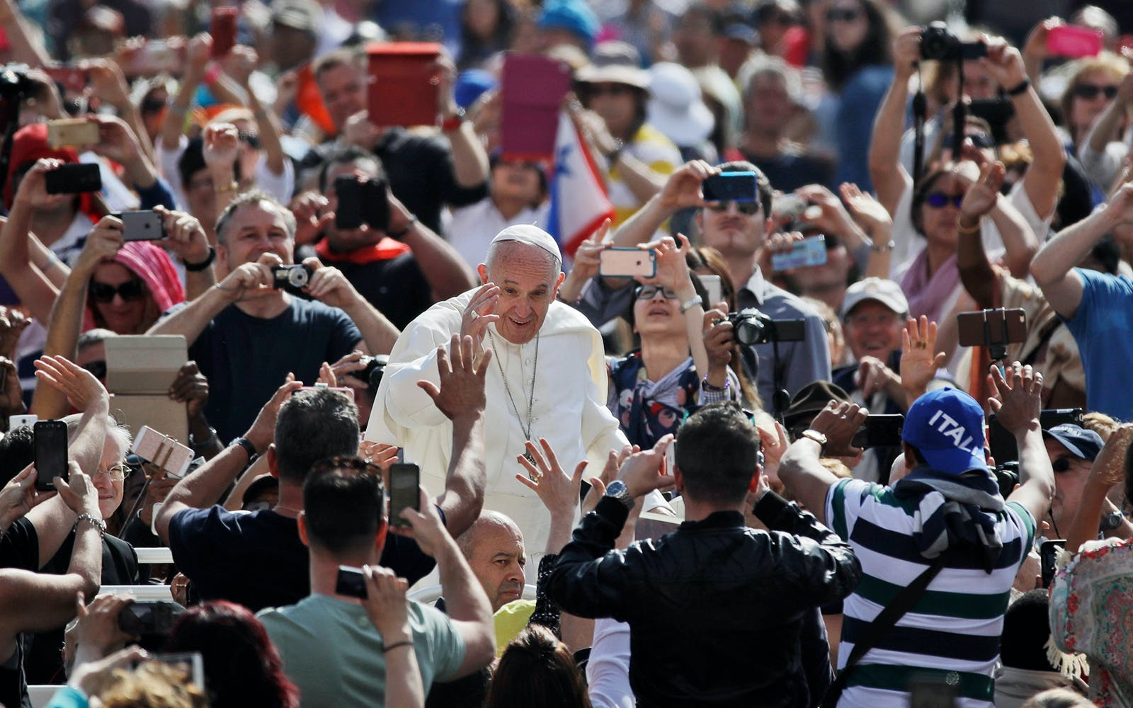 Papal Audience with Pope Francis Experience
