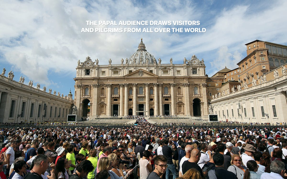 papal audience experience with pope francis (only wednesdays)-5
