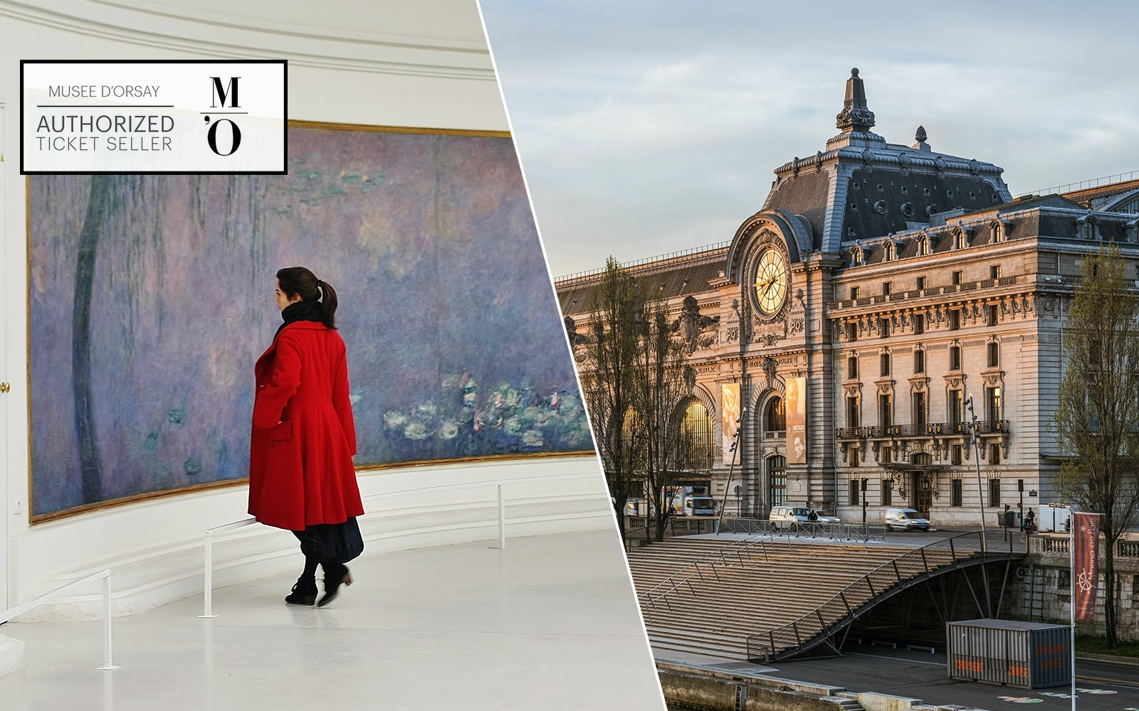 Priority Access to Musee de L'Orangerie and Musee d'Orsay