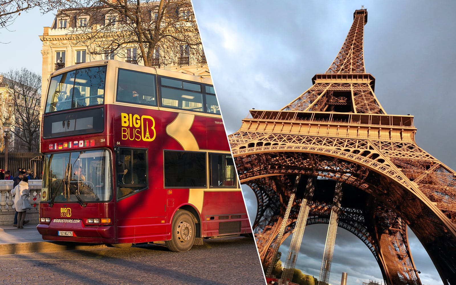 Skip the Line Eiffel Summit & Hop-On Hop-Off Tickets Combo