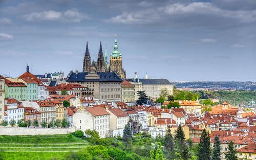 Prague in May