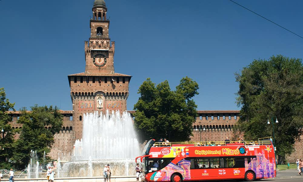 Milan Hop on Hop off Bus Tours