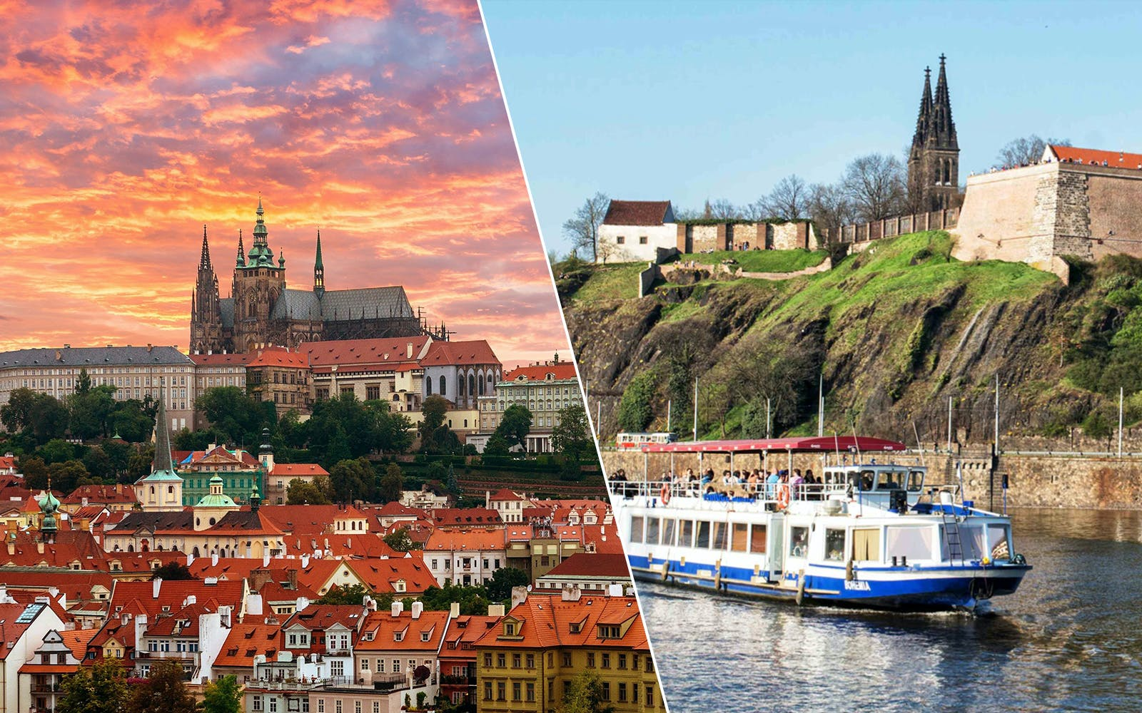 fast track access to prague castle and prague river cruise-1