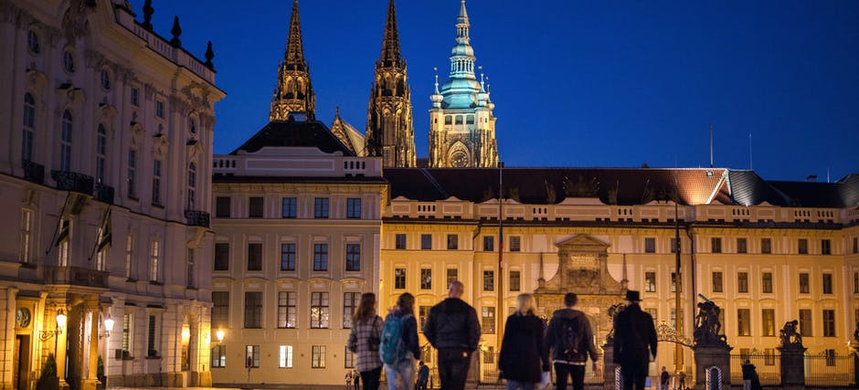 After Dark Guided Tour of Prague Castle and Old Town