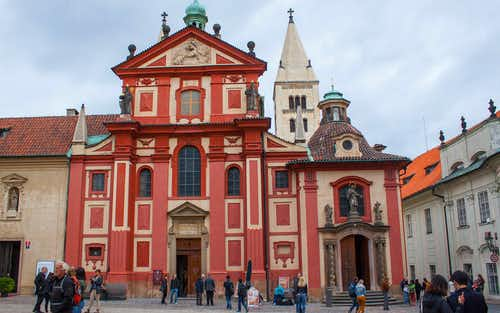 Prague in April