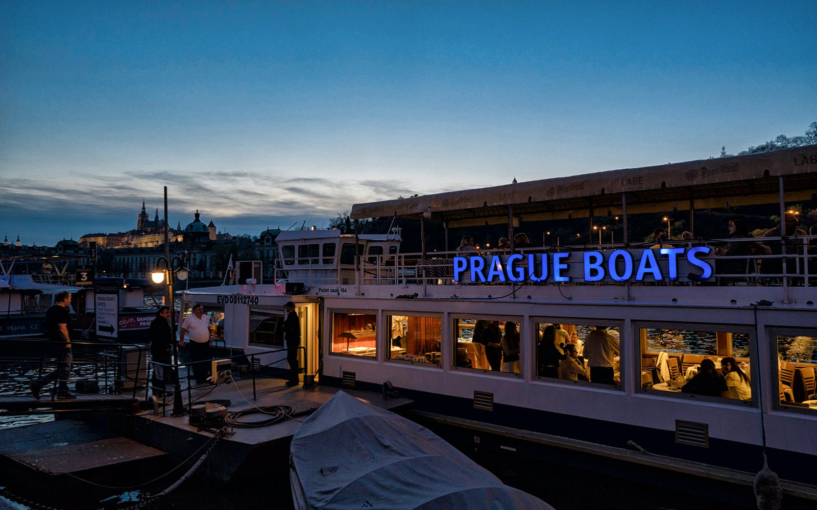Prague River Dinner Cruise
