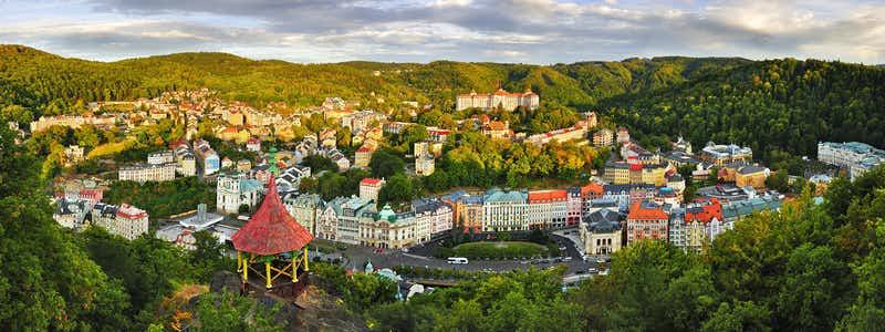 Prague to Karlovy Vary