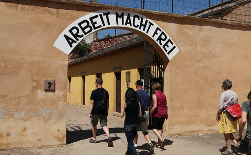Historic tour of Terezin Concentration Camp