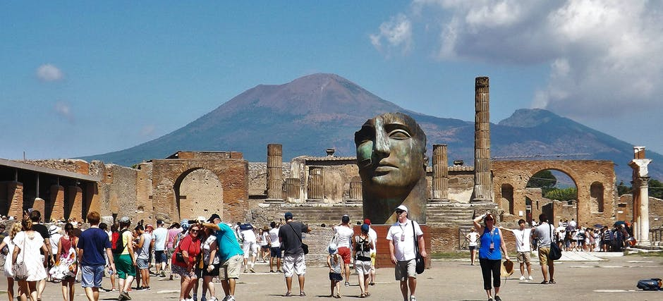Pompeii and Herculaneum Full Day Archaeological Excursion From Naples
