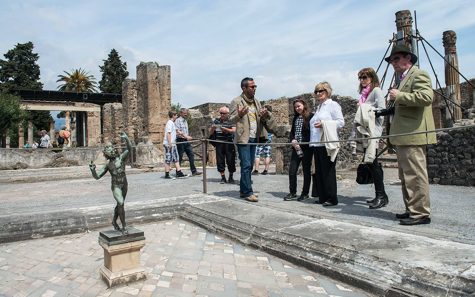 Pompeii Excavations and Naples Full Day Tour