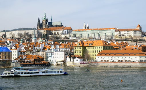 Hop-On, Hop-Off Prague Bus & Boat Sightseeing Tour