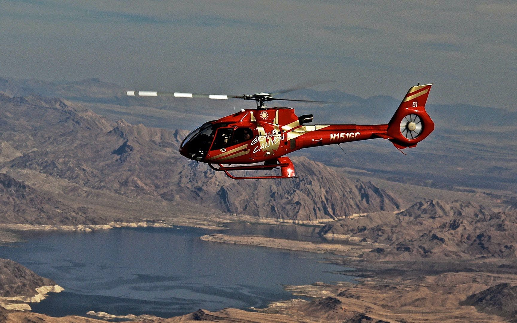 Vegas to GC West Rim Bus Tour with Heli Ride + River Cruise and Optional Skywalk