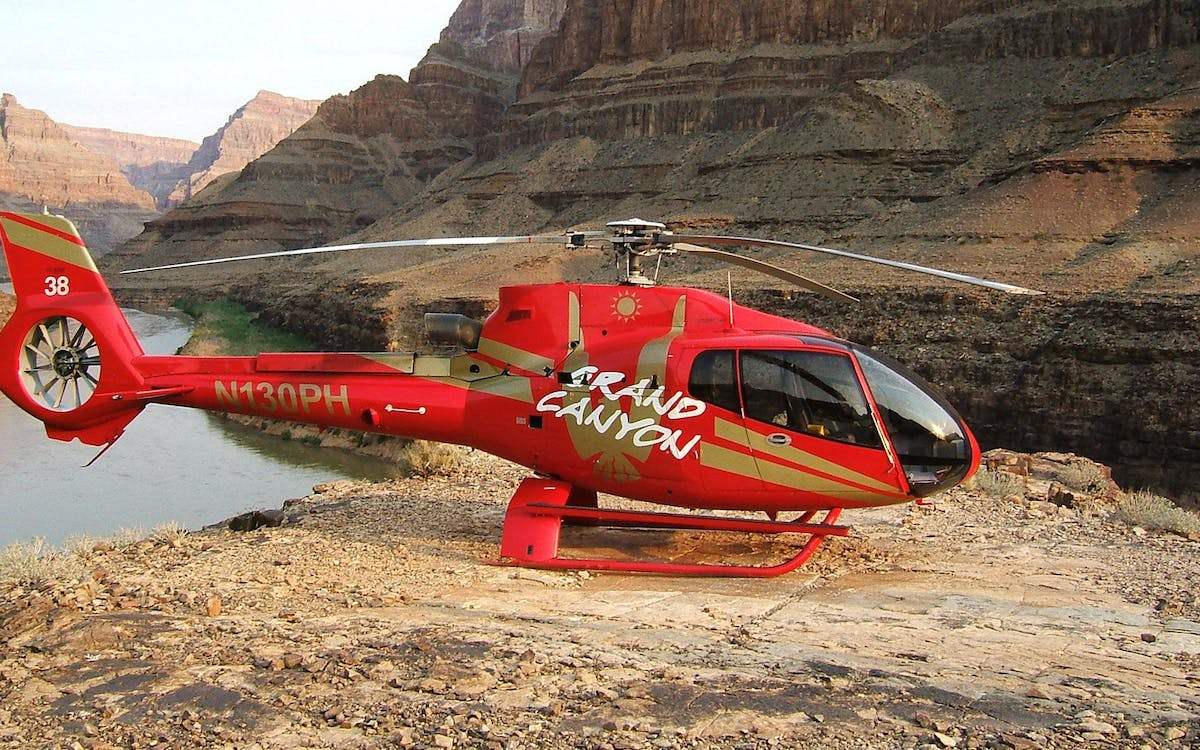 west rim bus tour with helicopter ride & river cruise -2