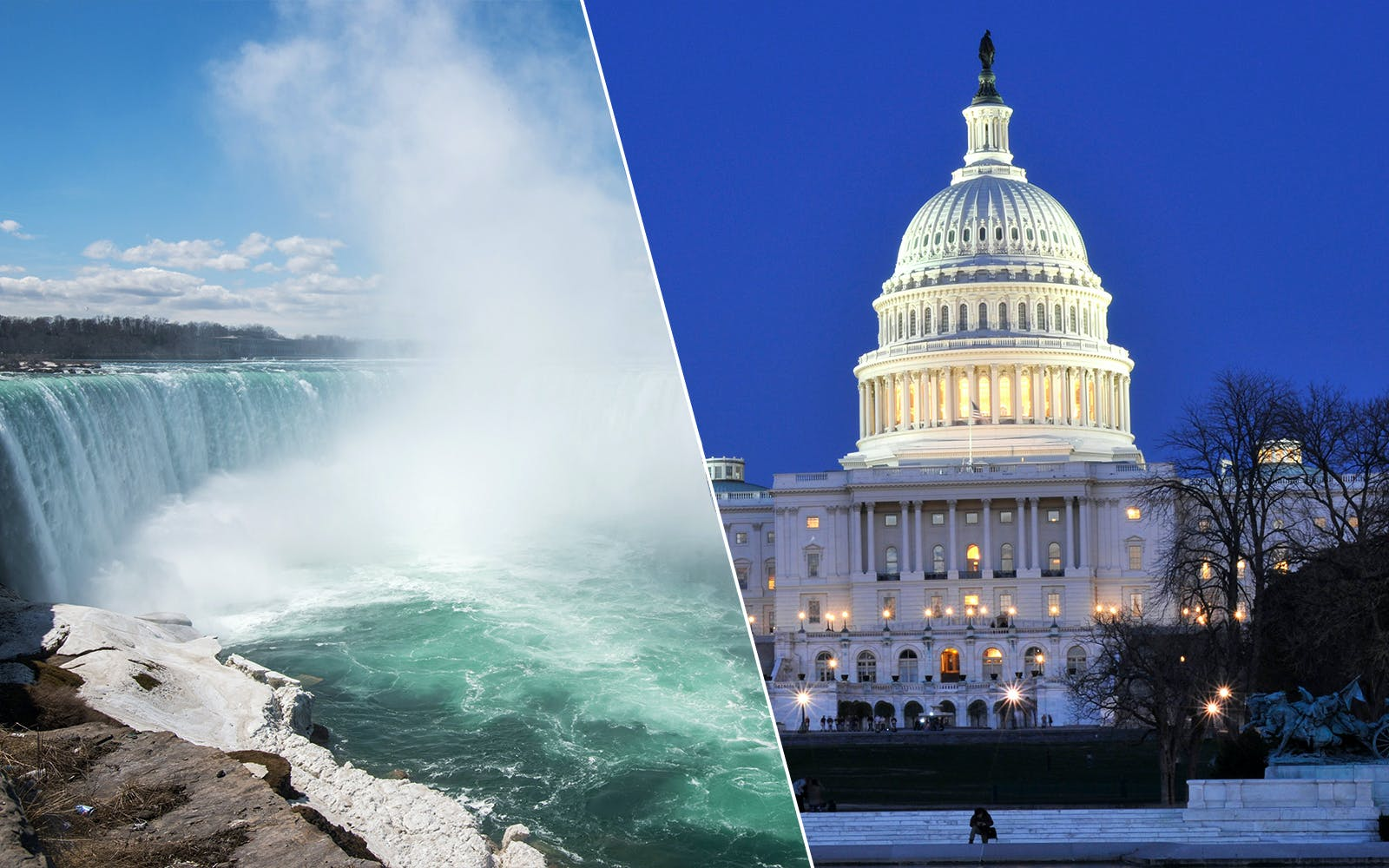 two day combo: niagara falls + washington tour-1