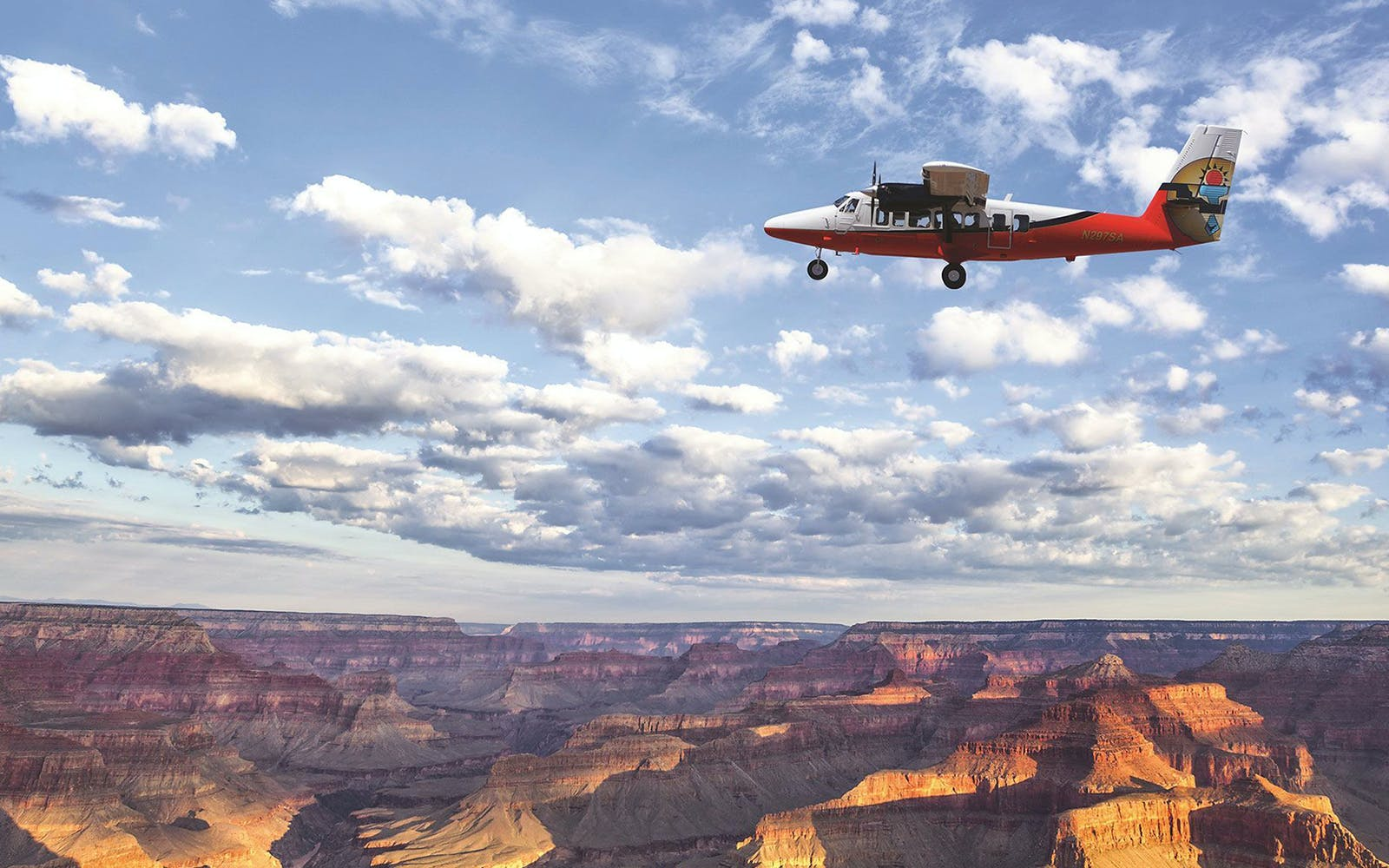 grand canyon airplane tour with optional landing and skywalk-1