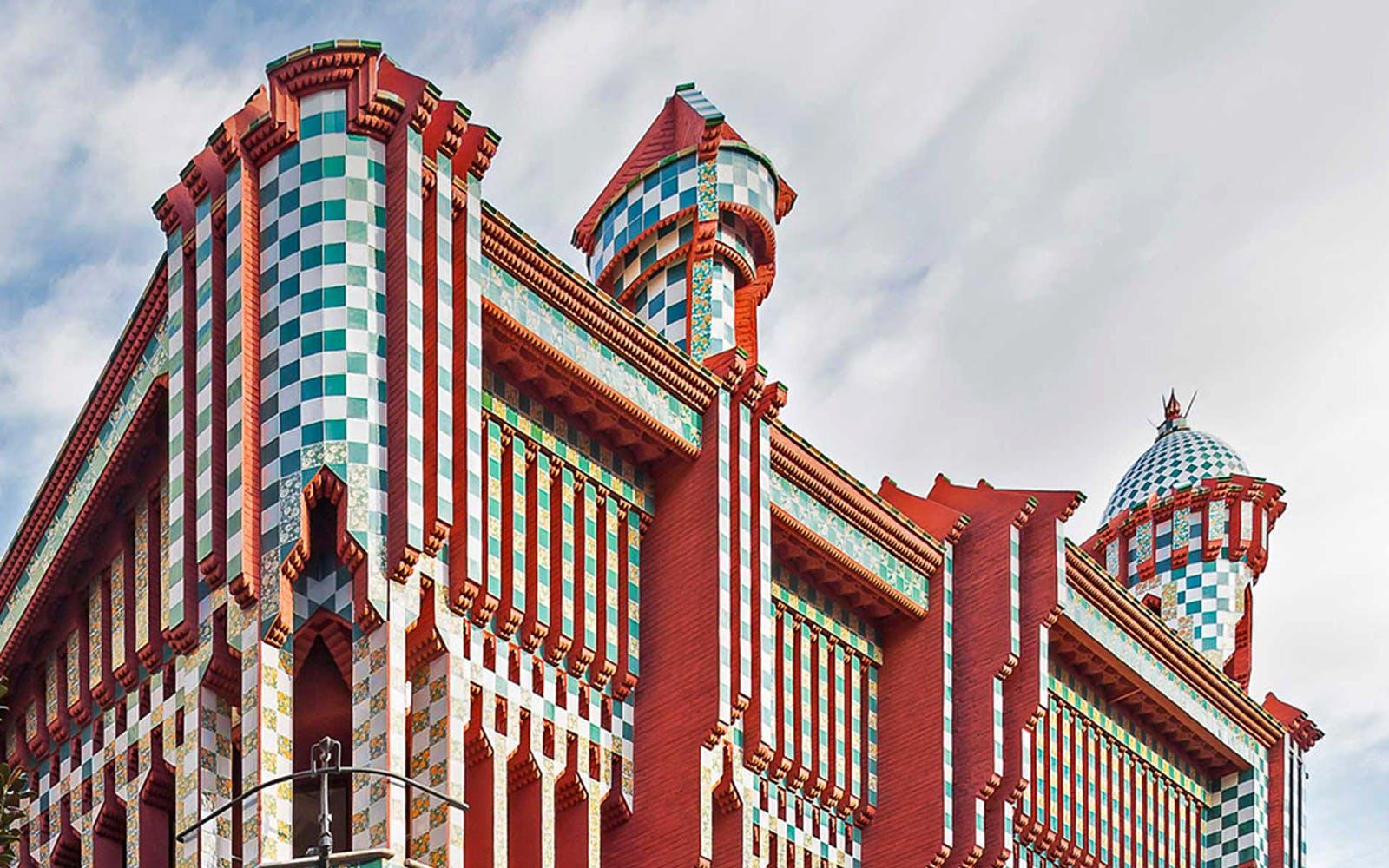 gaudi barcelona buildings - casa vicens