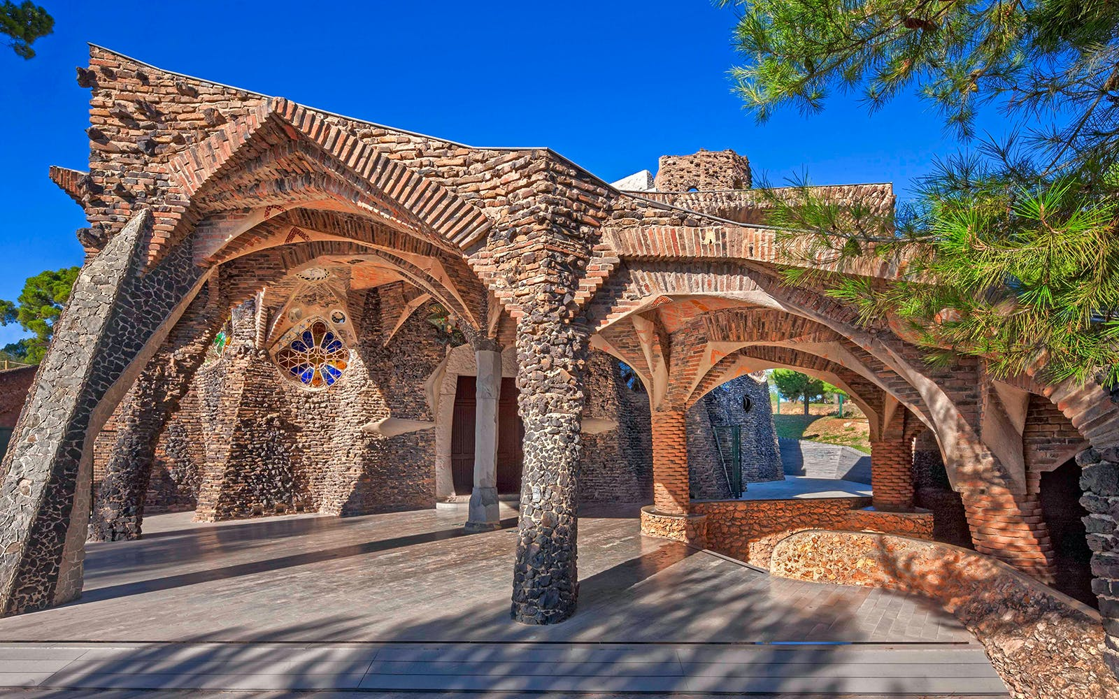 Colonia Guell Tickets With Transportation to/from Barcelona