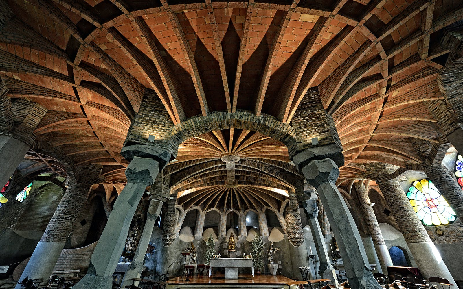 colonia guell tickets with transportation to/from barcelona-3