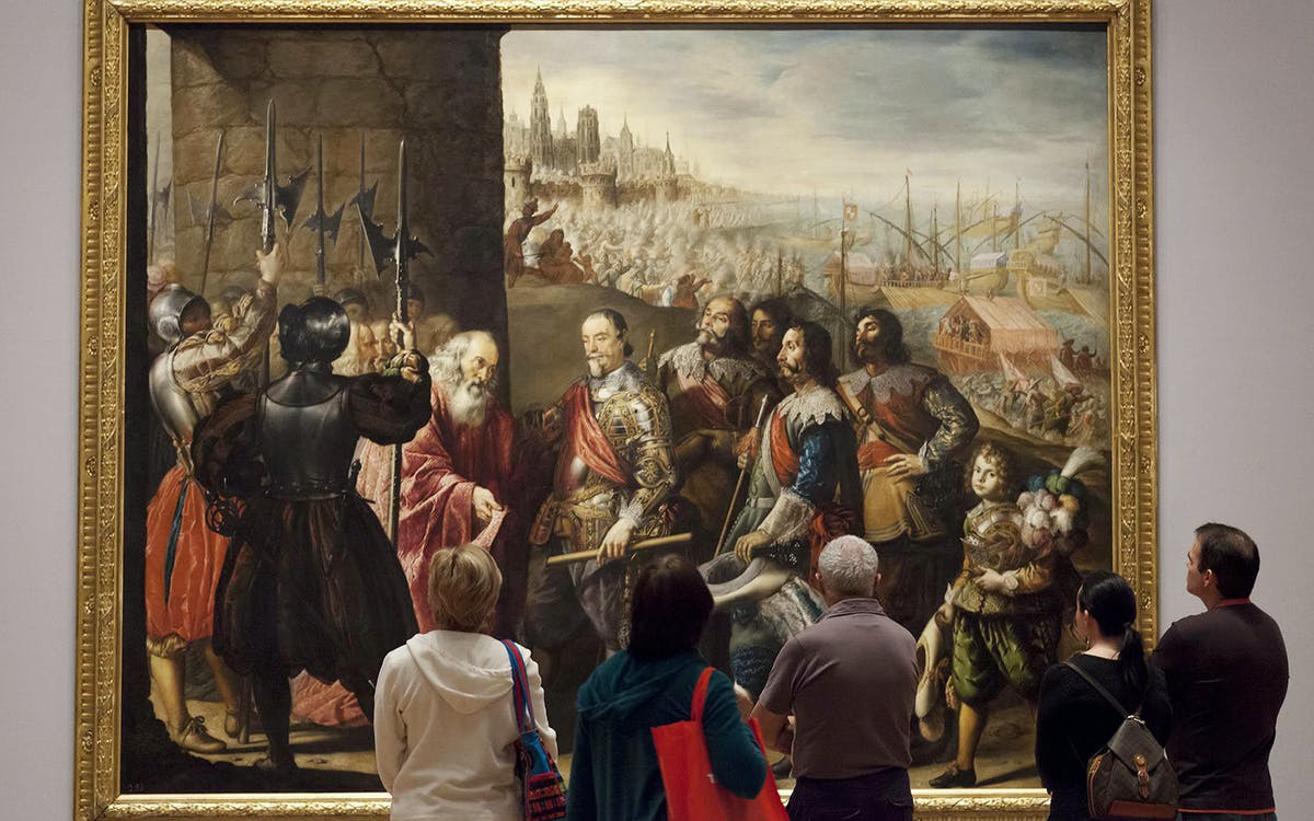 skip the line combo : guided tour of royal palace + guided tour of prado museum-2