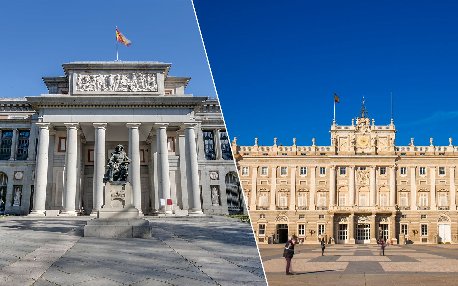 Guided Tour of the Royal Palace of Madrid and the Prado Museum with Skip the Line Tickets