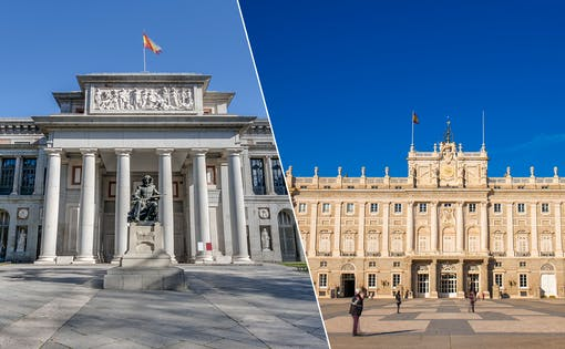 Skip the line Combo: Guided tour of Royal Palace + Guided tour of Prado Museum