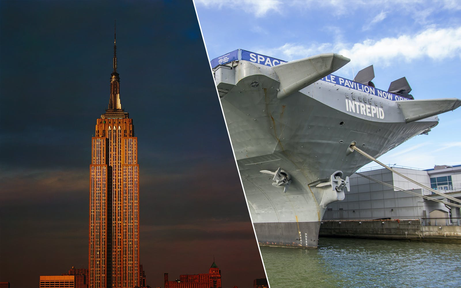 Skip the Line Access to Intrepid Museum and Empire State Building