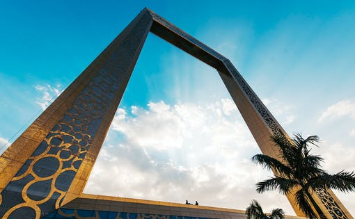 Dubai Frame with Hotel Transfers