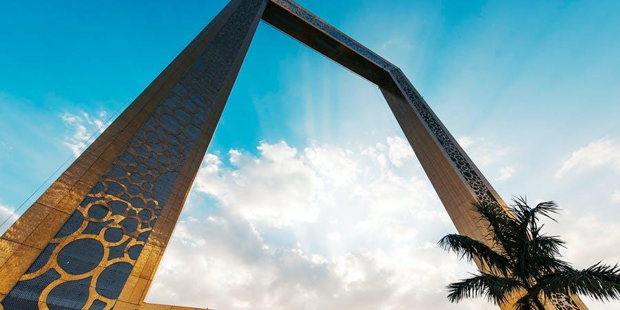 Dubai in JuLY - dubai frame