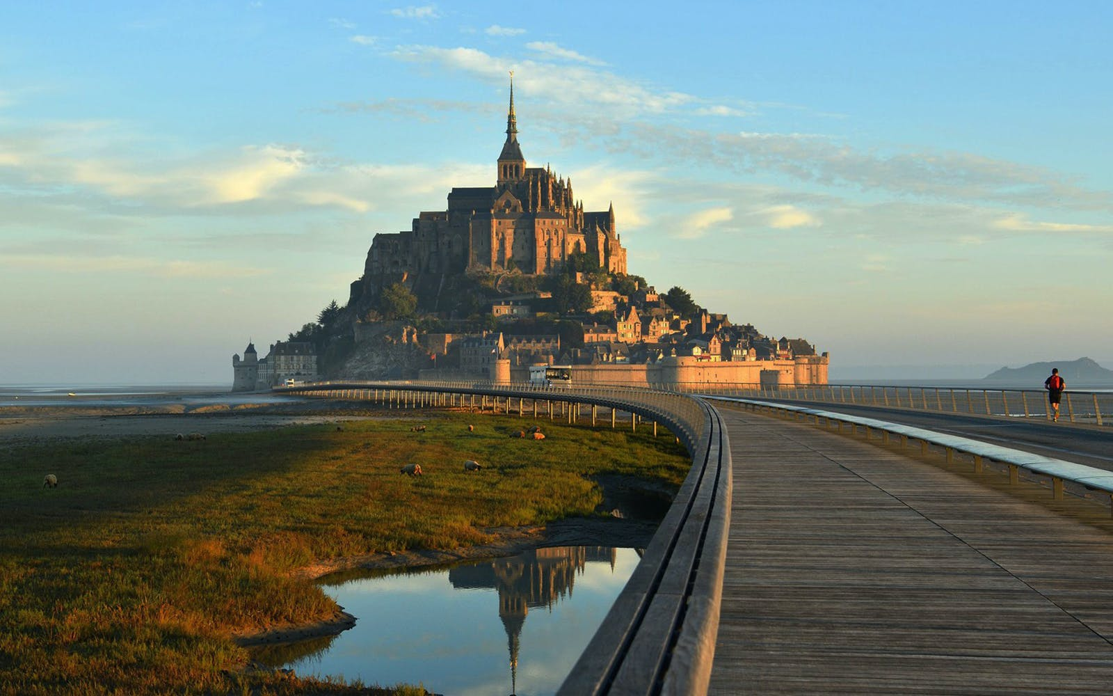 best day trips from paris - mont st michel
