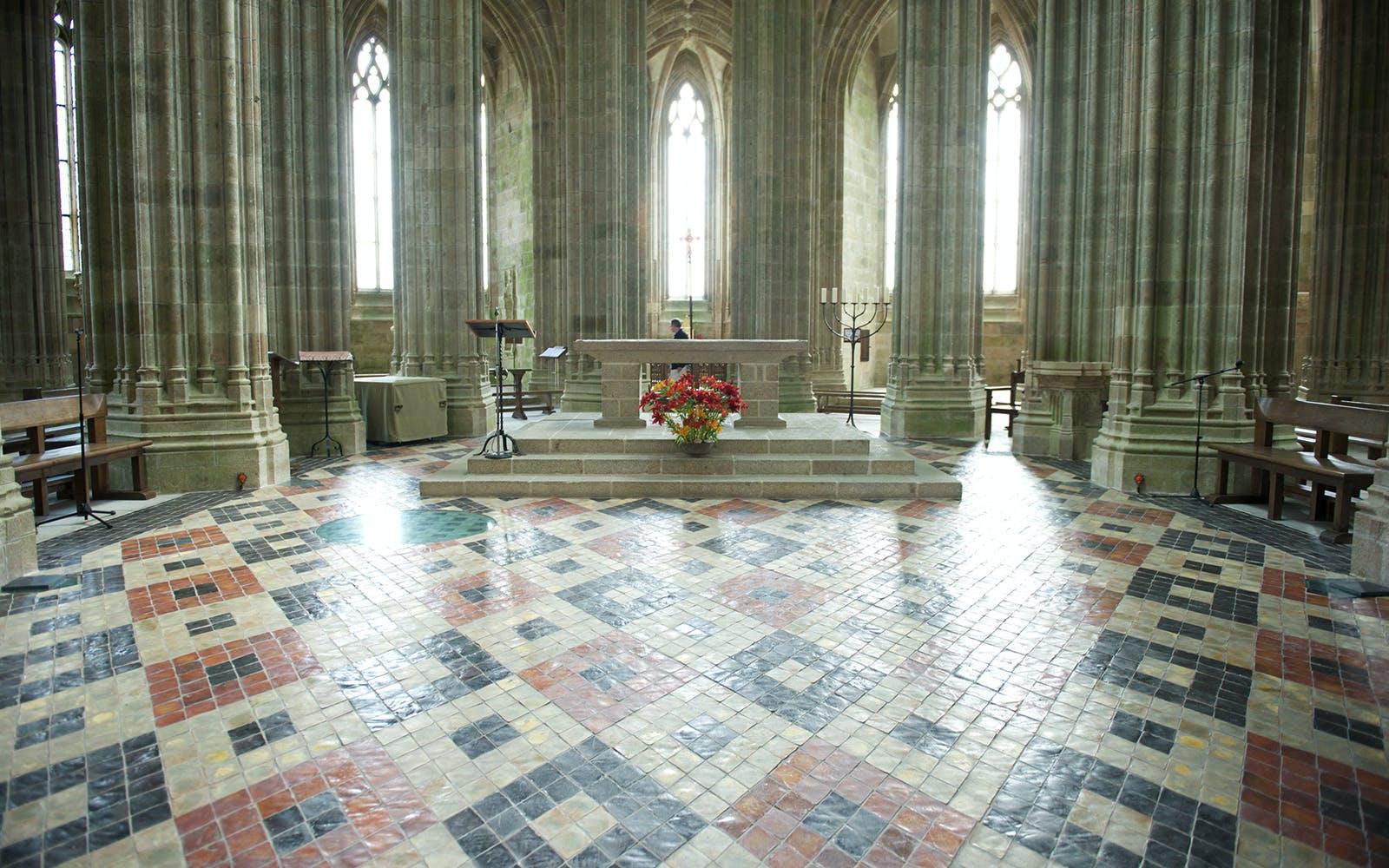 paris to mont saint michel - mont st michel abbey