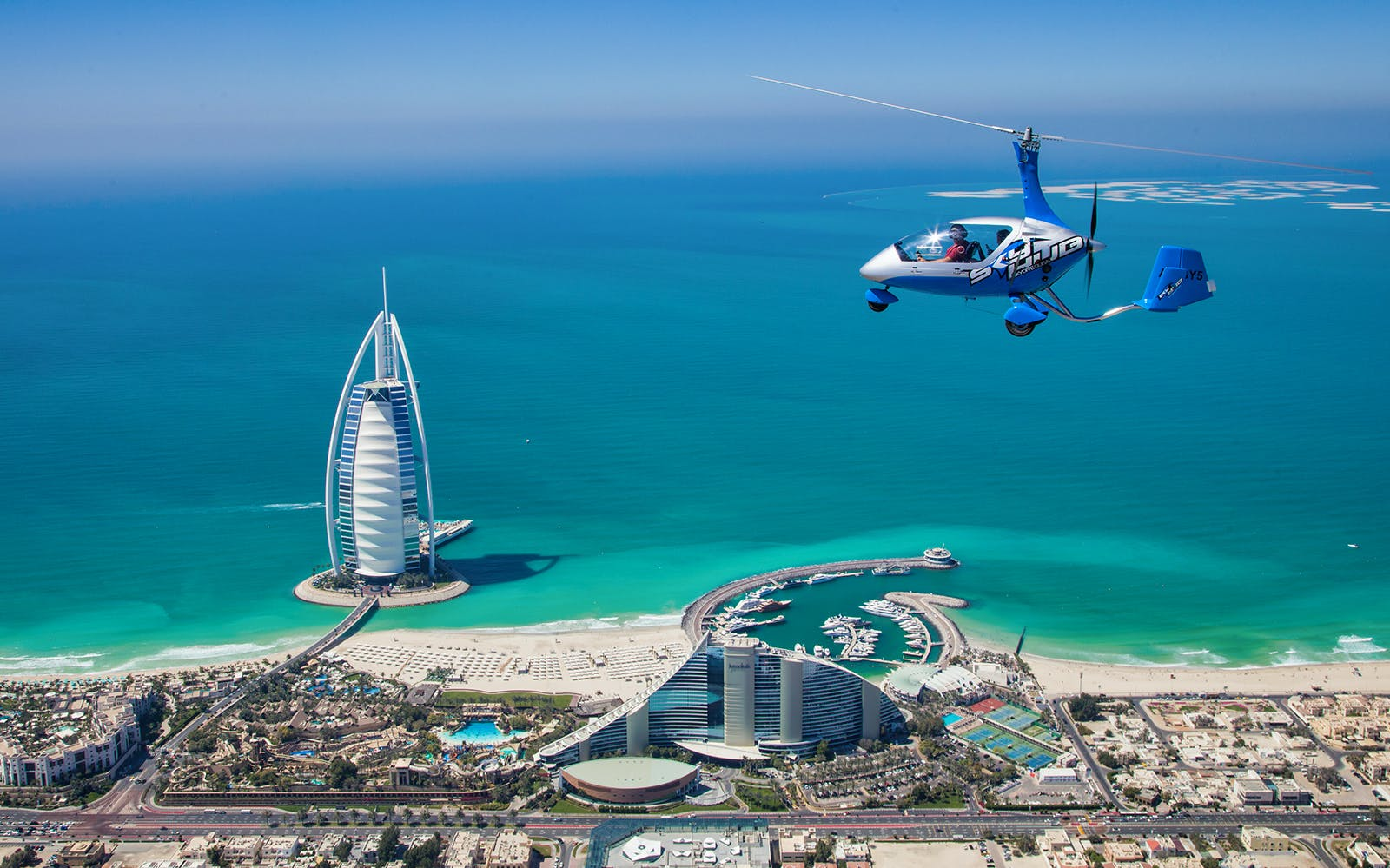 Skyhub Gyrocopter: Private Mini Flight Experience at the Palm Drop Zone