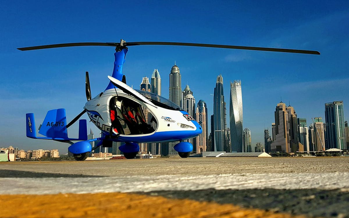 skyhub gyrocopter: private mini flight experience at the palm drop zone-3